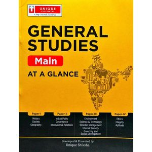 At A Glance General Studies Main By Editorial Team-(English)