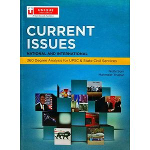 Current Issues National & International By Nidhi Soni And Manmeet Thapar-(English)