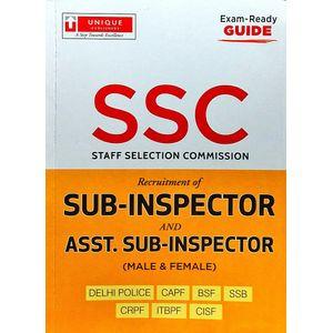 Ssc Exam Guide Sub Insperctor Ans Asst. Sub Inspector By A Chopra-(English)