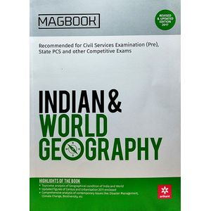Magbook Indian And World Geography By Manoj Sonekar, Anupam Rastogi-(English)