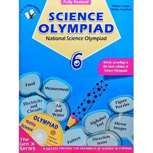 National Science Olympiad Class 6 With Cd By Shikha Gupta, Shikha Nautiyal-(English)