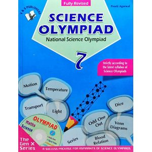 National Science Olympiad Class 7 With Cd By Preeti Agarwal-(English)