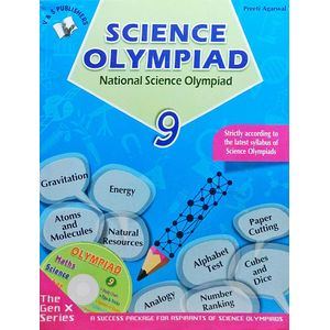National Science Olympiad Class 9 With Cd By Preeti Agarwal-(English)