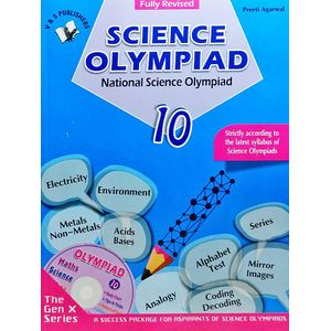 National Science Olympiad Class 10 With Cd By Preeti Agarwal-(English)