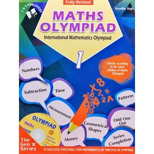 International Maths Olympiad Class 1 With Cd By Shraddha Singh-(English)