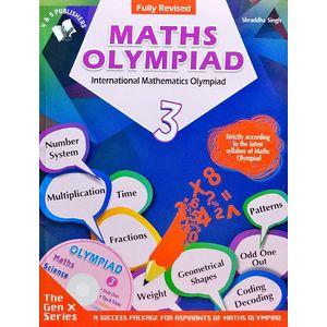 International Maths Olympiad Class 3 With Cd By Shraddha Singh-(English)