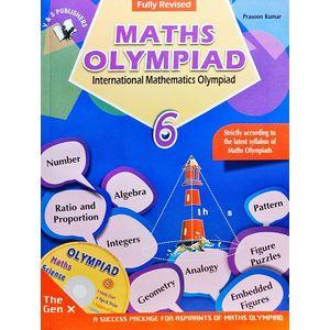 International Maths Olympiad Class 6 With Cd By Prasoon Kumar-(English)