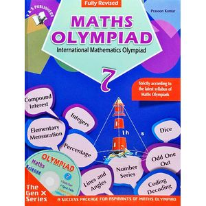 International Maths Olympiad Class 7With Cd By Prasoon Kumar-(English)