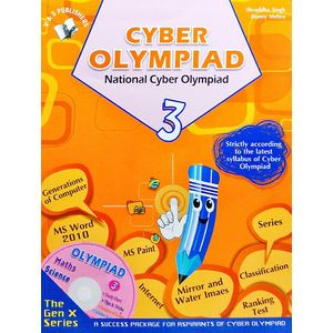 National Cyber Olympiad Class 3 With Cd By Shraddha Singh, Bunny Mehra-(English)
