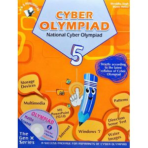 National Cyber Olympiad Class 5 With Cd By Shraddha Singh, Bunny Mehra-(English)
