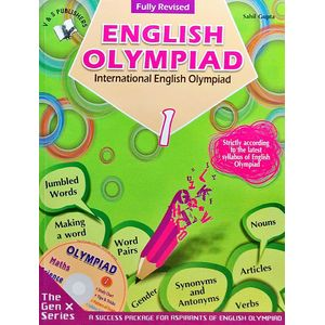 International English Olympiad Class 1 With Cd By Sahil Gupta-(English)