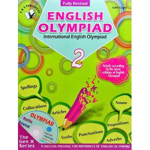 International English Olympiad Class 2 With Cd By Sahil Gupta-(English)