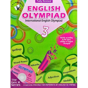 International English Olympiad Class 3 With Cd By Sahil Gupta-(English)