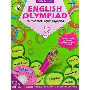 International English Olympiad Class 3 With Cd By Sahil Gupta-(English)