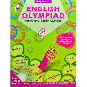 International English Olympiad Class 4 With Cd By Sahil Gupta-(English)