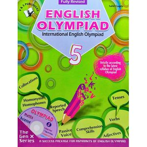 International English Olympiad Class 5 With Cd By Sahil Gupta-(English)