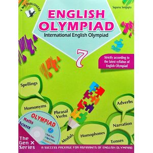 International English Olympiad Class 7 With Cd By Suparan Sengupta-(English)