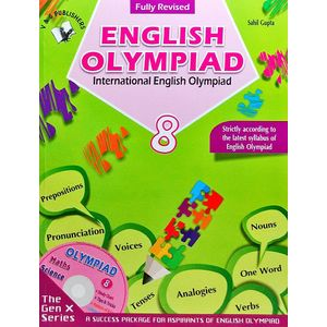 International English Olympiad Class 8 With Cd By Sahil Gupta-(English)