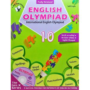 International English Olympiad Class 10 With Cd By Sahil Gupta-(English)
