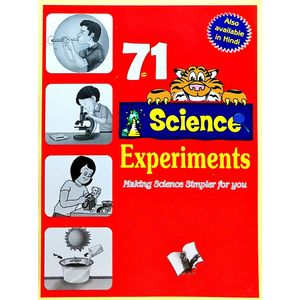 71 Science Experiments By Vikas Khatri-(English)