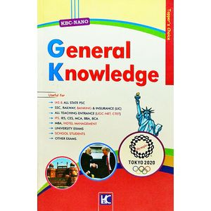 Kbc Nano General Knowledge By Shyam Salona-(English)