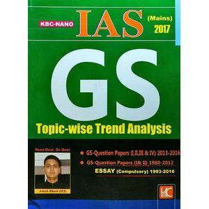 Kbc Nano Ias Main G S Topic Wise Trend Analysis By Ashish Bharti-(English)