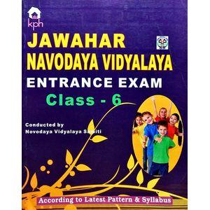 Jawahar Navodaya Vidyalaya Entrance Exam Class 6 By Editorial Team-(English)