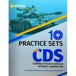 10 Practice Sets Cds Combined Defence Services Entrance Examination By Arihant Experts-(English)
