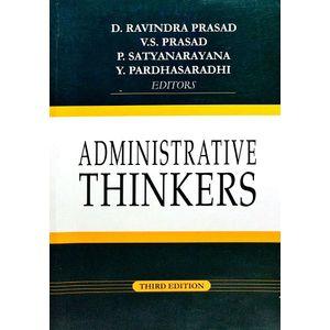Administrative Thinkers By D Ravindra Prasad, V S Prasad, P Satyanarayana, Y Pardhasaradhi-(English)