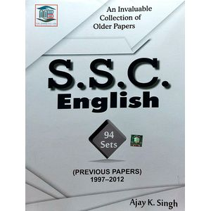 Ssc English Previous Papers 1997-2012 By Ajay Kumar Singh-(English)