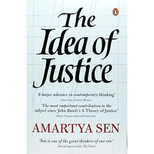 The Idea Of Justice By Amartya Sen-(English)
