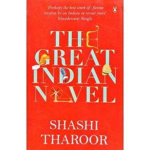Great Indian Novel By Shashi Tharoor-(English)