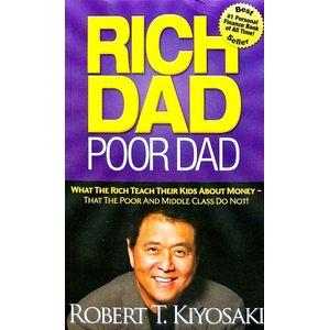 Rich Dad Poor Dad By Robert T Kiyosaki-(English)