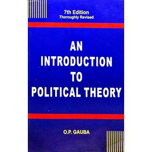 An Introduction To Political Theory By O P Gauba-(English)