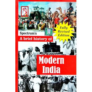 A Brief History Of Modern India By Rajiv Ahir-(English)