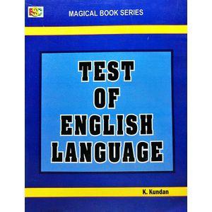 Test Of English Language By K Kundan-(English)