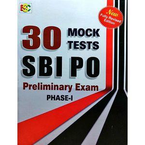 30 Monk Tests Sbi Po Preliminary Examination Phase 1 By K Kundan-(English)