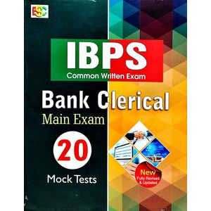 20 Mock Tests Ibps Cwe Bank Clerical Main Exam By K Kundan-(English)