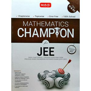 Mathematics Champion For Jee By Mtg Editorial Board-(English)