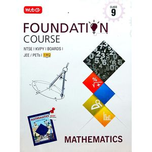 Mathematics Foundation Course For Class 9 By Mtg Editorial Board-(English)