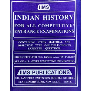 Iims Indian History By Gopal K Puri-(English)