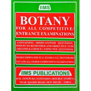 Iims Botany By Gopal K Puri-(English)