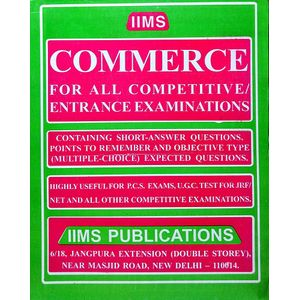 Iims Commerce By Gopal K Puri-(English)