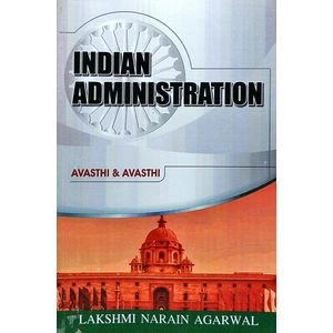 Indian Administration By Avasthi And Avasthi-(English)