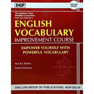 English Vocabulary Improvement Course By Prof R S Dhillon, Pomila Ghuman-(English)