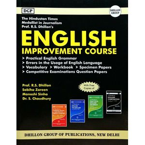 English Improvement Course By Prof R S Dhillon, Sabiha Zareen, Manoshi Sinha, Dr S Chaudhury-(English)