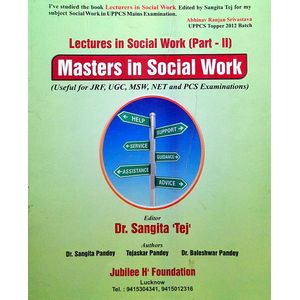 Masters In Social Work By Dr Sangita Tej-(English)