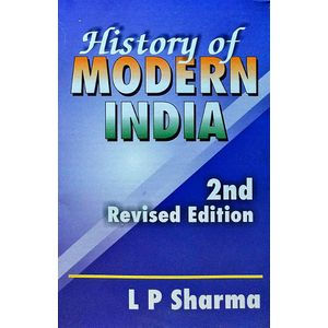 History Of Modern India By L P Sharma-(English)