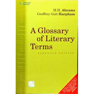 A Glossary Of Literary Terms By M H Abrams, Geoffey Galt Harpham-(English)
