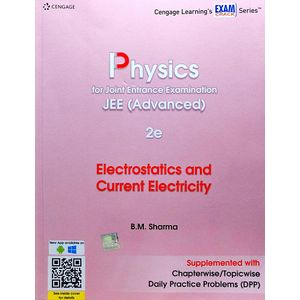 Physics For Joint Entrance Examination Jee Advanced Electrostatics And Current Electricity 2 By B M Sharma-(English)